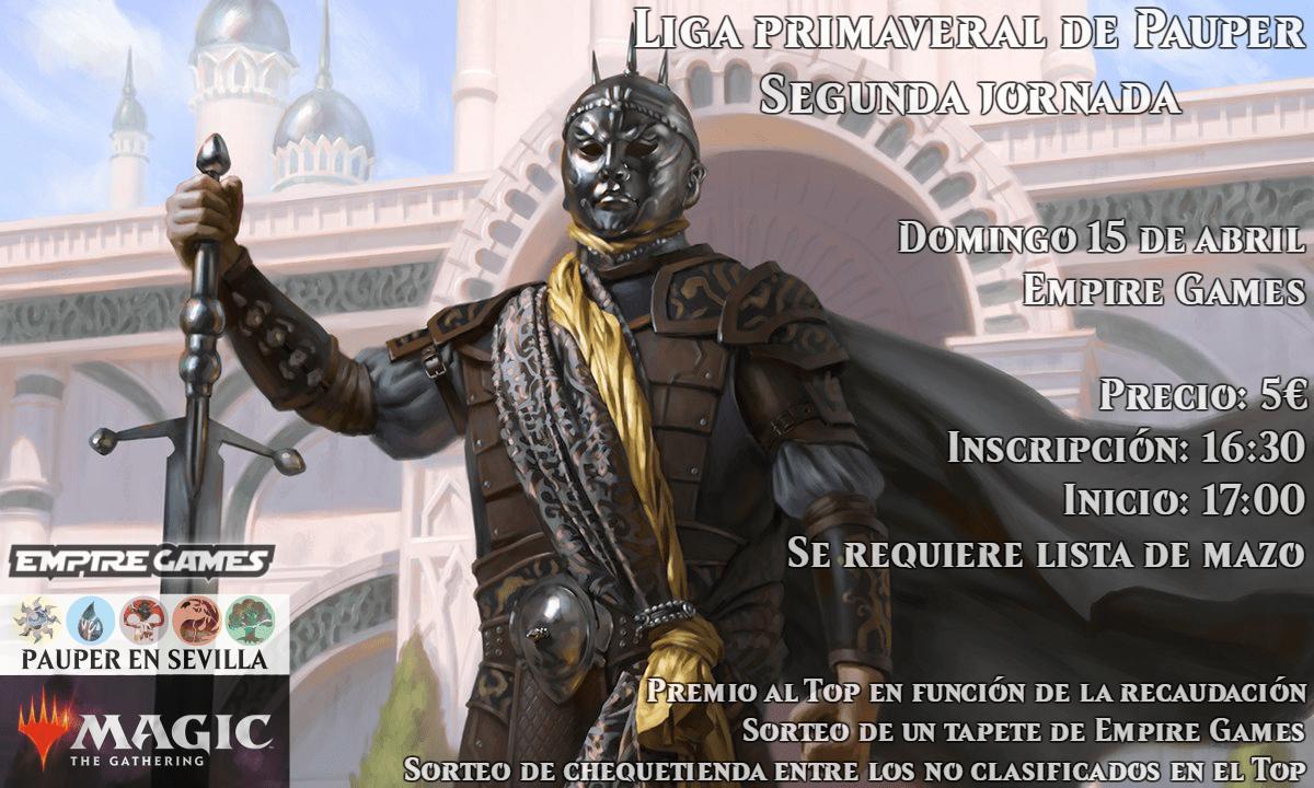 LIGA PRIMAVERAL DE PAUPER – JORNADA 2