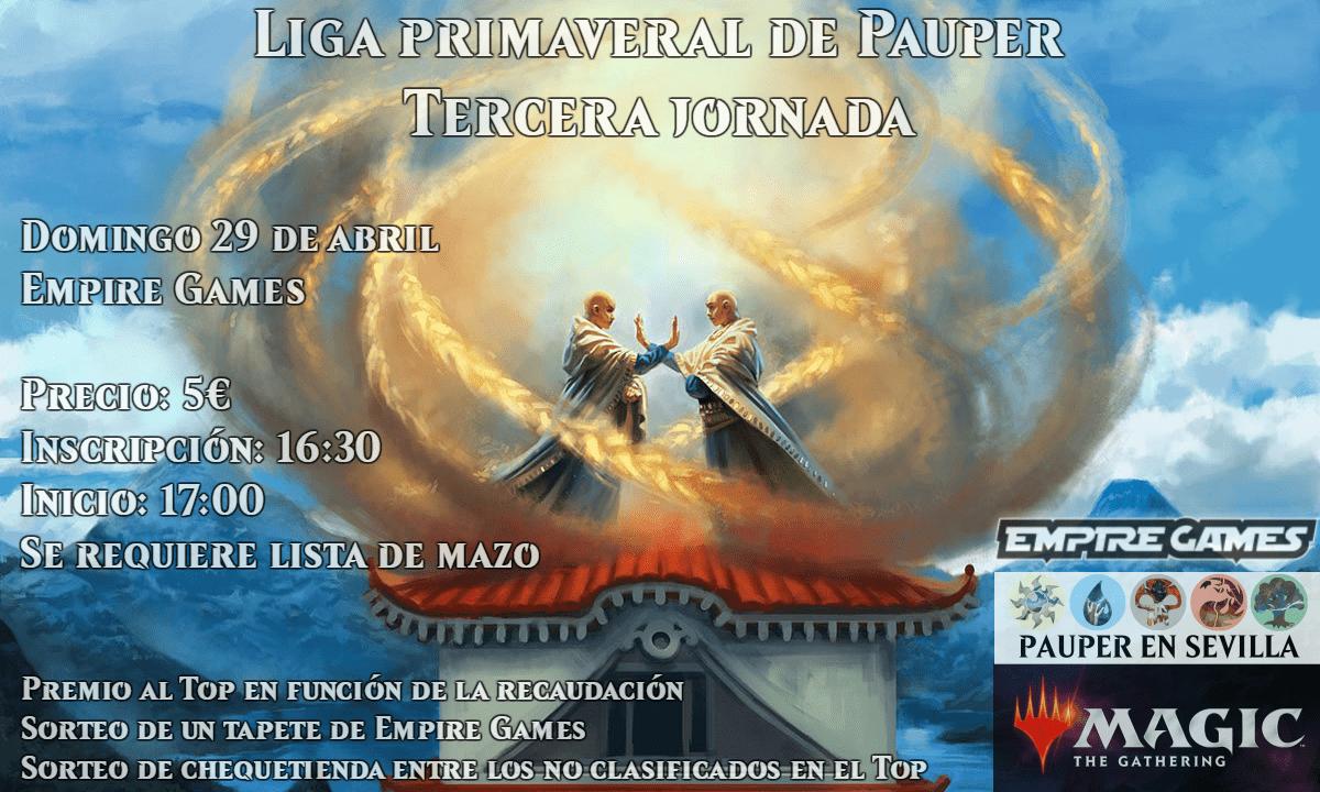LIGA PRIMAVERAL DE PAUPER – JORNADA 3