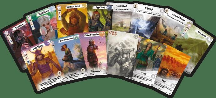 cartas promocionales del torneo de los 5 anillos en Empire Games Sevilla