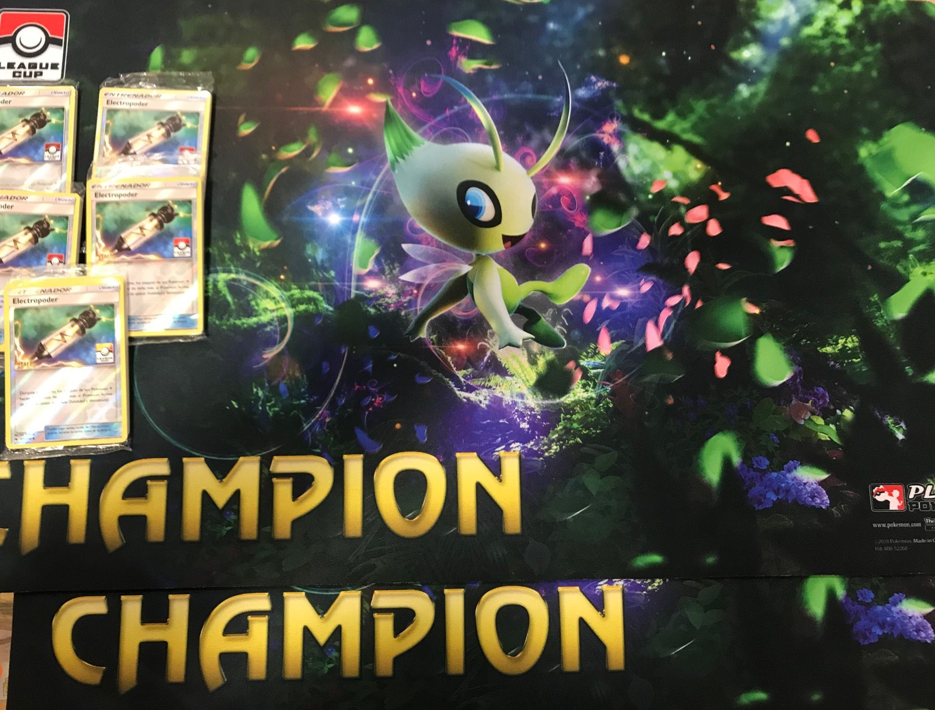 premios de la league cup de pokemon TCG enero 2019 en empire games sevilla