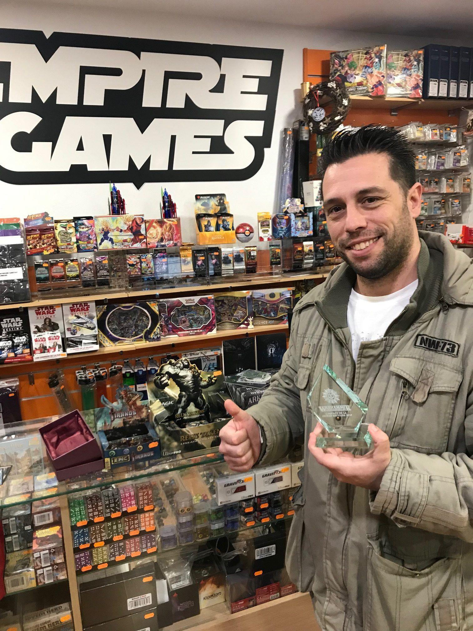 campeón de la liga de invierno 2018 de warhammer shadespire en Empire Games