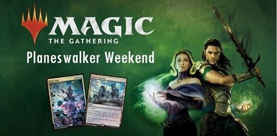 MAGIC – PLANESWALKER WEEKEND