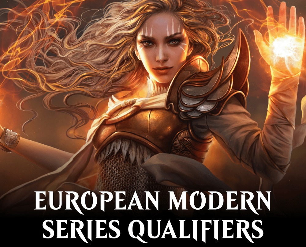 MTG – European Modern Series Qualifiers (Sellado)