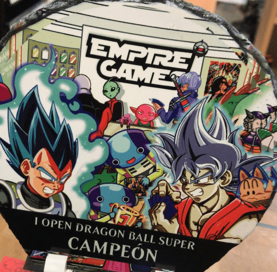 primer torneo de dragon ball super en empire games