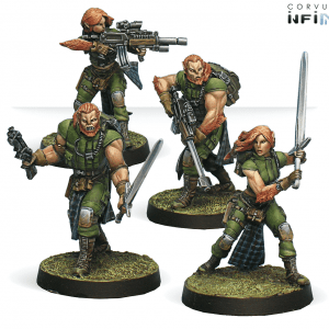 Infinity: 9th Wulver Grenadiers Regiment (0420)