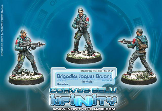 Brigadier Jacques Bruant, Sous-officier Des Metros – Molotok