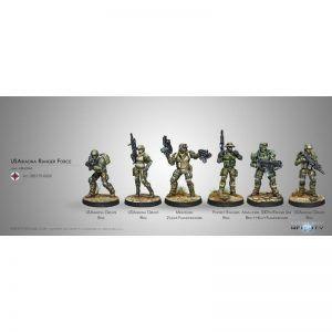 Infinity: U.S. Ariadna Ranger Force (Ariadna Sectorial Starter Pack) (0600)