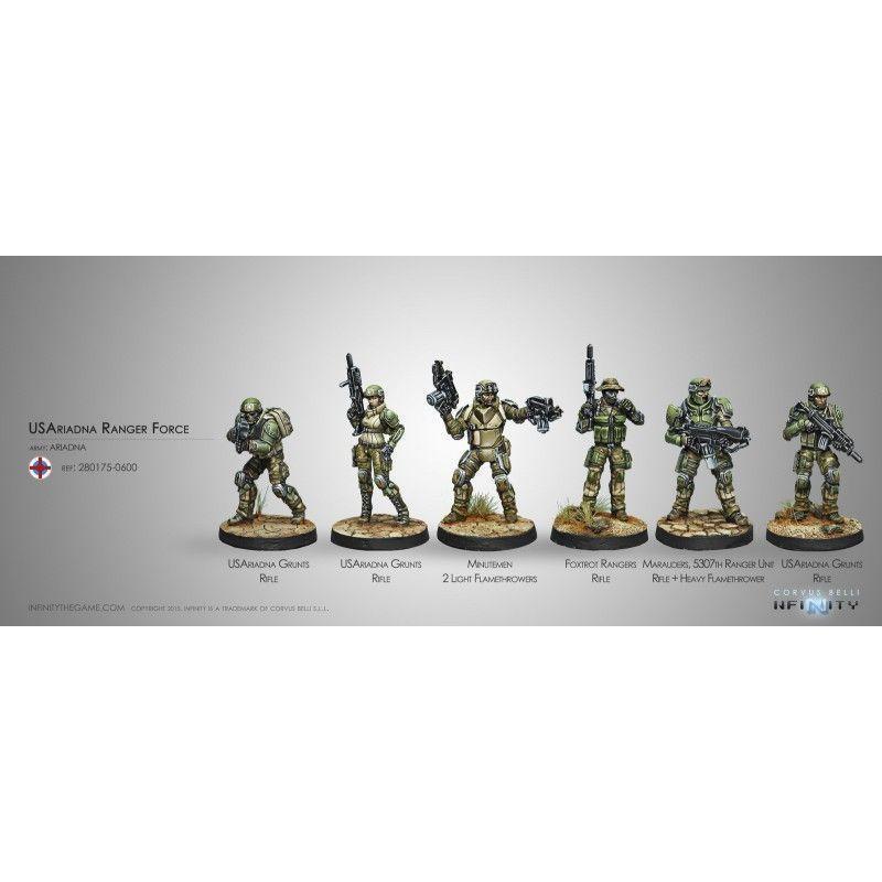 U.S. Ariadna Ranger Force (Ariadna Sectorial Starter Pack)