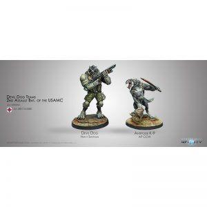 Infinity: Devil Dogs Teams, 2nd Assault Bat. Of The Usamc (0580)