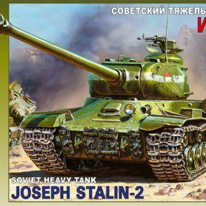 1:35 Zvezda 3524 Joseph Stalin-2 Soviet Heavy Tank