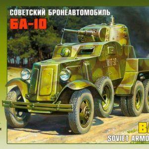 1:35 Zvezda 3617 BA-10 SOVIET ARMORED CAR