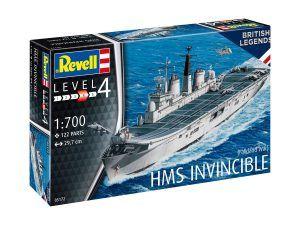 1:700 Revell 05172 HMS Invincible (Falkland War)