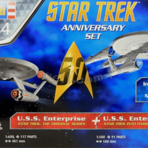1:600 Revell 05721 Star Trek Gift Set