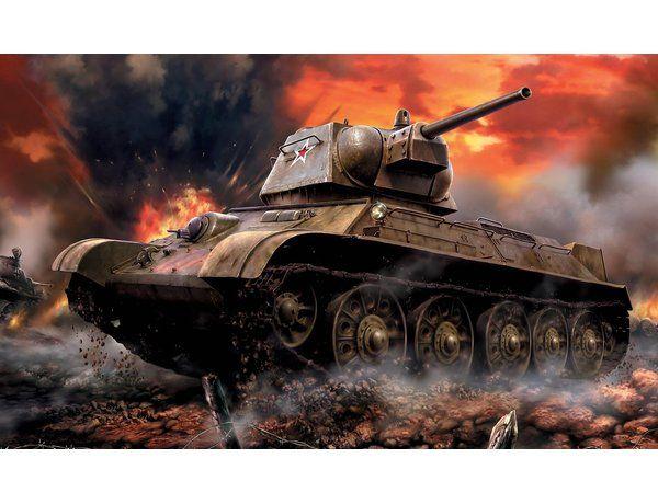 1:100 Zvezda 6159 Soviet Medium Tank T-34/76