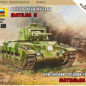 1:100 Zvezda 6171 British Infantry Tank Matilda II