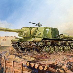 1:100 Zvezda 6182 Soviet Self Propelled Gun SU-152