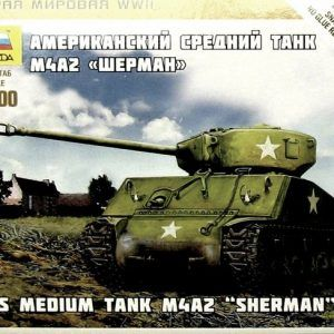 1:100 US-Medium Tank M4A2 Sherman  ZVE6263