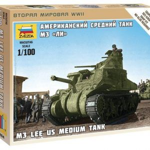 "1:100 US Medium Tank M-3 ""Lee""  ZVE6264"