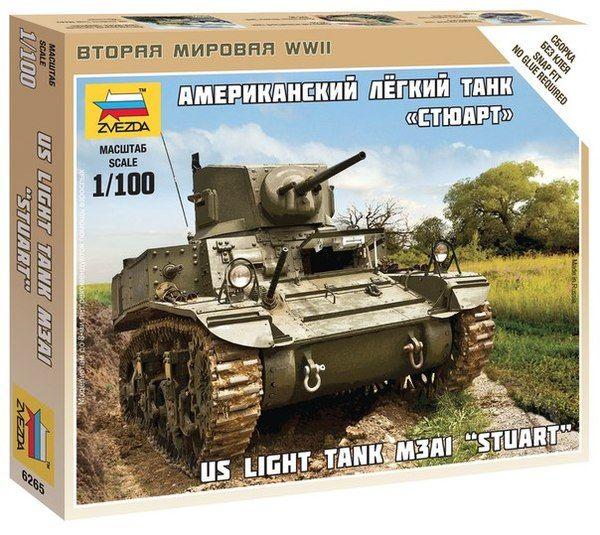 1:100 Zvezda 6265 US Tank Stuart