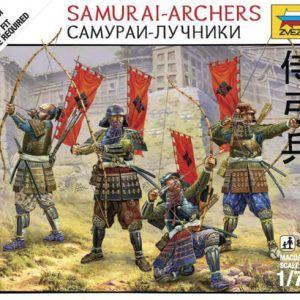 1:72 Zvezda 6404 Samurai Archers
