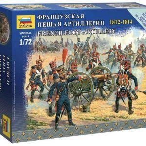 1:72 Zvezda 6810 French Foot Artillery 1812-1814
