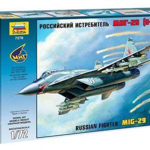 1:72  Zvezda 7278 MiG 29