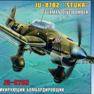 1:72 Zvezda 7306 Junkers Ju-87B2