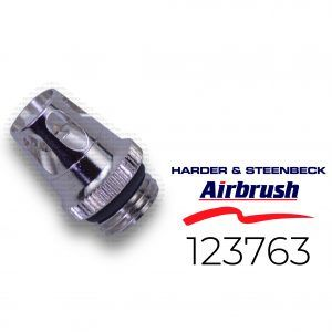 Harder & Steenbeck: Cabezal De Aire 0.15 / 0.2mm For Evolution, Colani + Grafo Also Suitable For Infinity + Ultra (123763)
