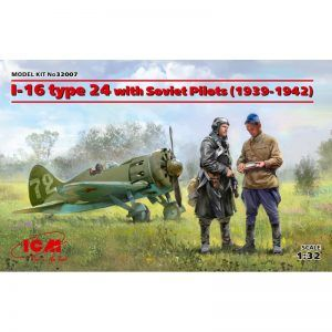 1:32 ICM: I-16 Type 24 With Soviet Pilots (1939-1942)