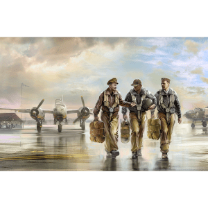 1:32 ICM: USAAF Pilots (1941-1945) 3 Figures
