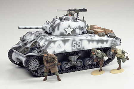 1:35 Tamiya 35251 M4A3 Sherman 105mm