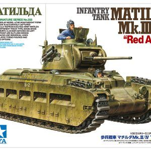 1:35 Tamiya Matilda MkIII/IV Red Army