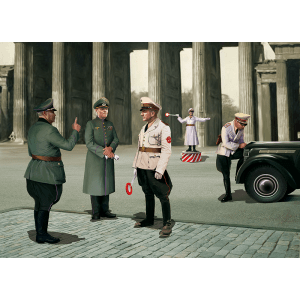 1:35 ICM: WWII German Road Police (5 Figures) (35633)