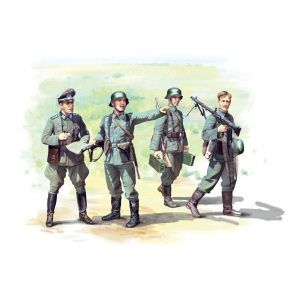 1:35 ICM: German Infantry (1939-1942) (4 Figures) (35639)