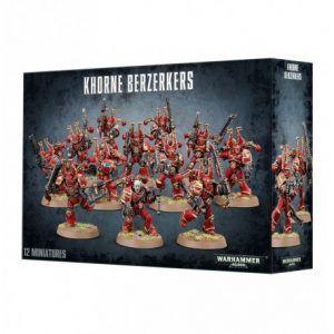 Chaos Space Marines: Berserkers De Khorne (43-10)