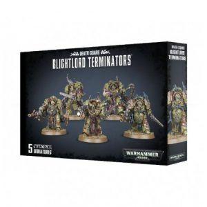 Death Guard: Blightlord Terminators (43-51)