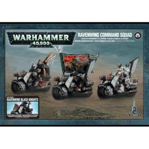 Dark Angels: Ravenwing  Command Squad (44-11)