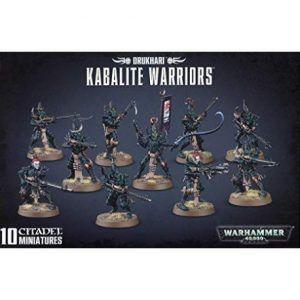 Drukhari: Kabalite Warriors (45-07)