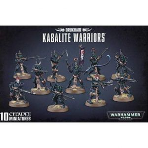 Drukhari: Kabalite Warriors (45-07)