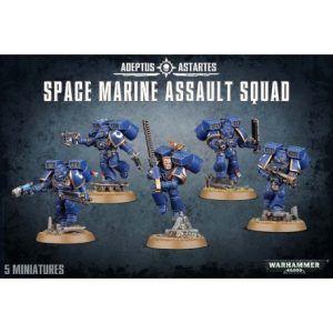 Space Marines: Assault Squad (48-09)