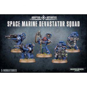 Space Marines: Devastator Squad (48-15)