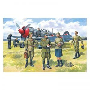 1:48 ICM: Soviet Air Force Pilots And Ground Personnel (48084)