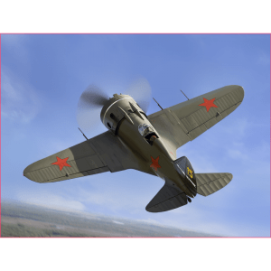 1:48 ICM: I-16 Type 28, WWII Soviet Fighter (48098)