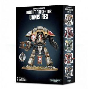Imperial Knights: Knight Preceptor Canis Rex (54-15)