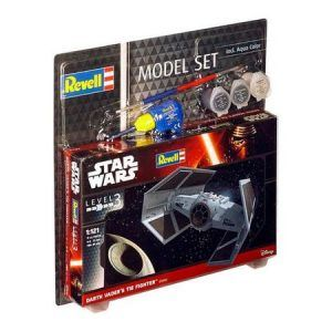 1:121 Revell 63602 Darth Vader's Tie Fighter – Model Set