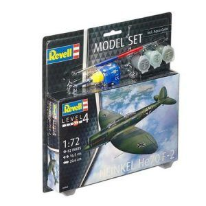 1:72 Revell 63962 Heinkel He70 F-2  – Model Set