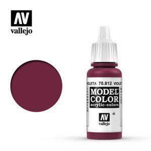 Model Color: Rojo Violeta 70812