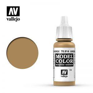 Model Color: Ocre Verde 70914