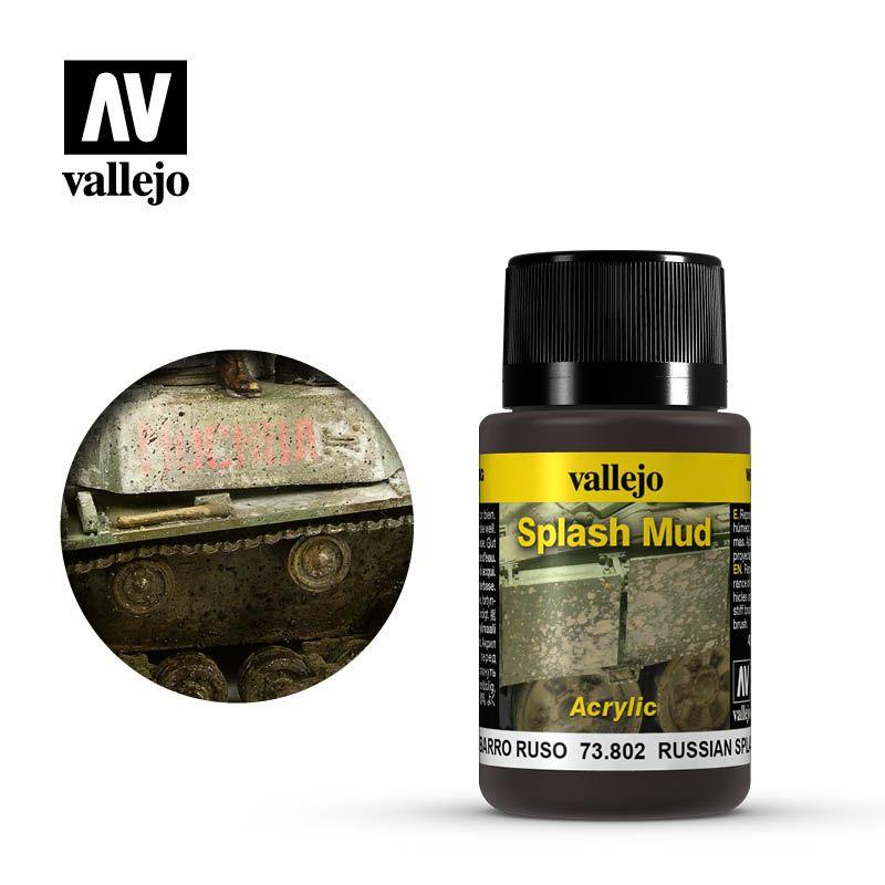 Vallejo Weathering Effects: Barro Ruso 73802