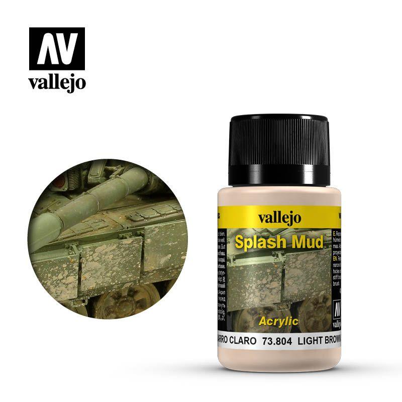 Vallejo Weathering Effects: Barro Marron Claro 73804